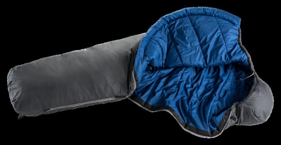 Synthetic fibre sleeping bag Orbit +5°