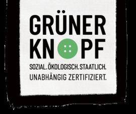 Grüner Knopf zertifiziertes Produkt