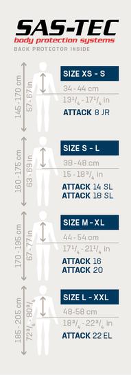 Fahrradrucksack Attack 18 SL